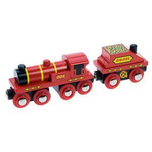 Bigjics Большой красный локомотив