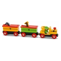 brio Поезд с животными-сафари