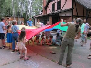 Игротеки и семейные лагеря Жени Кац - подвижные игрым