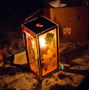 праздник фонариков в гостях у гномов